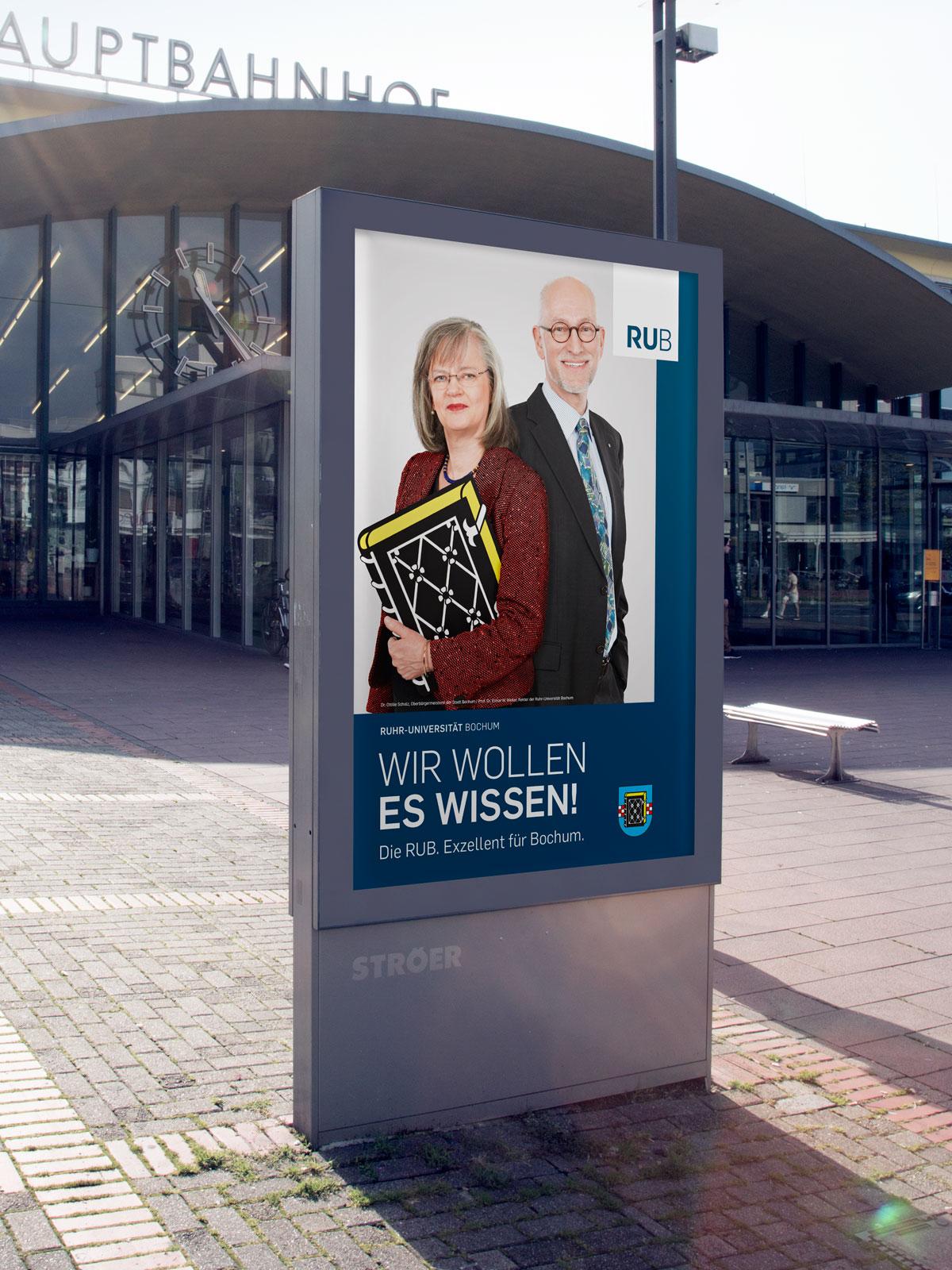 RUB Exzellenz-Kampagne